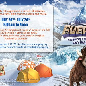 Everest | Conquering Challenges with God's Mighty Power